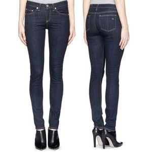 Rag & Bone High Rise Skinny 27 Jeans Heritage